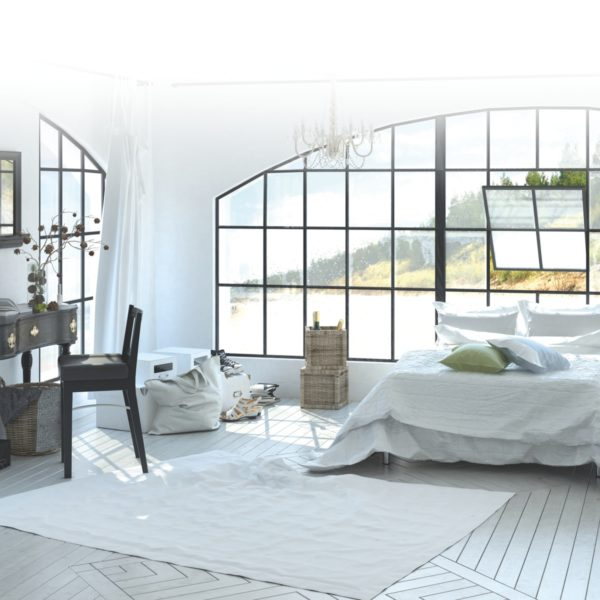 Hans G. Bock richtet Ihr Luxus Ferienhaus ein.